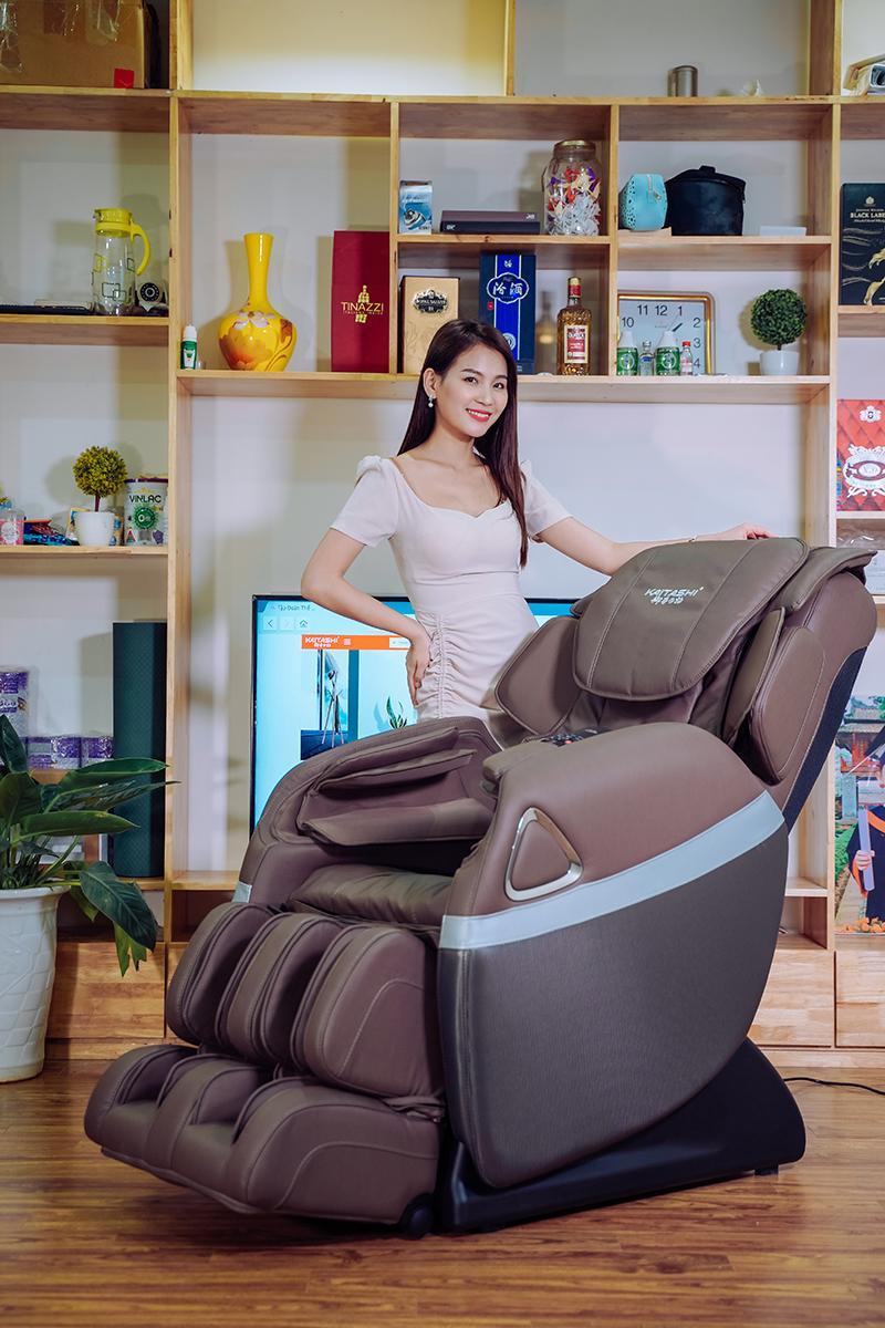 Ghế massage Kaitashi KS- 168 giá rẻ mang đến giây phút thư giãn cho mọi người