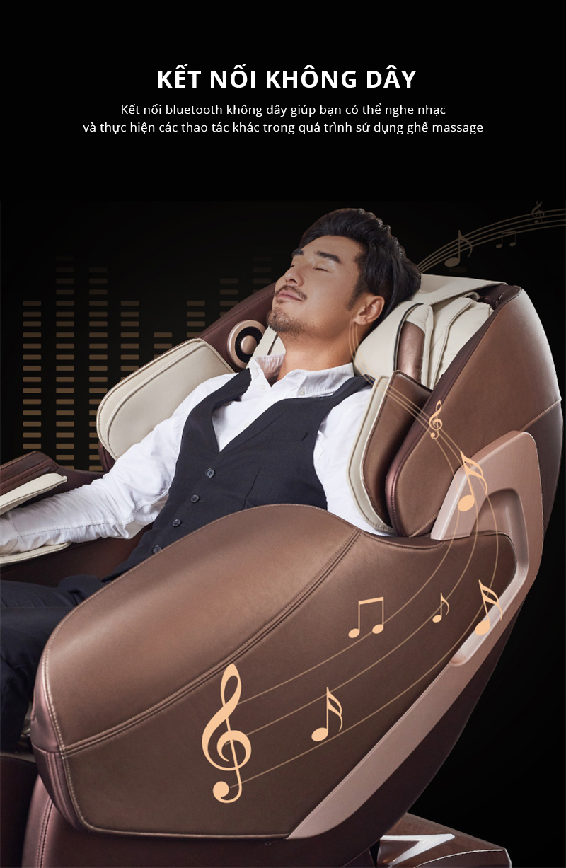 Các tiện ích tính năng của ghế massage cao cấp khác