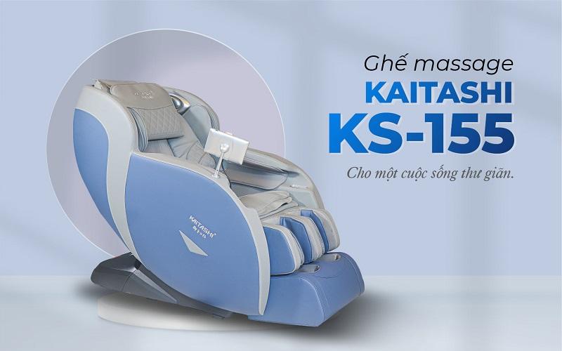 Tận hưởng cuộc sống thư giãn với ghế massage Kaitashi KS-155