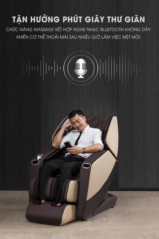 Ngay cả những người có dấu hiệu bị trầm cảm cũng được khuyến khích sử dụng ghế massage Nhật