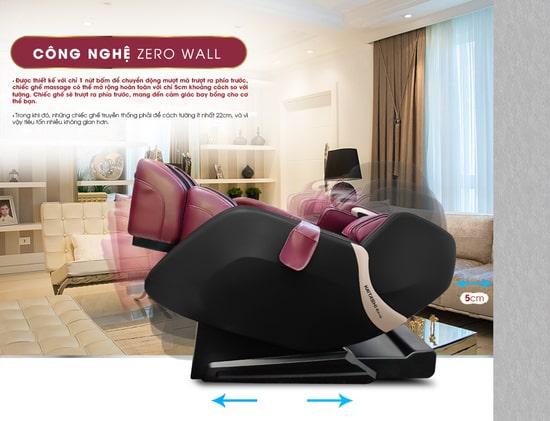 Ghế massage hiện đại được tích hợp nhiều tính năng hiện đại, công nghệ cao
