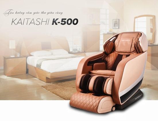 Kaitashi KS-500 có thiết kế đẹp, sang trọng êm ái