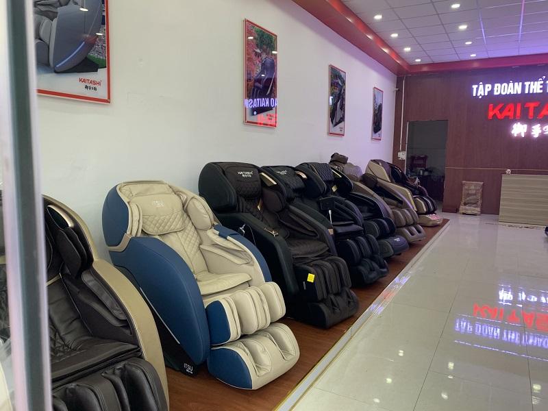 Ghế massage toàn thân tại Trà Vinh