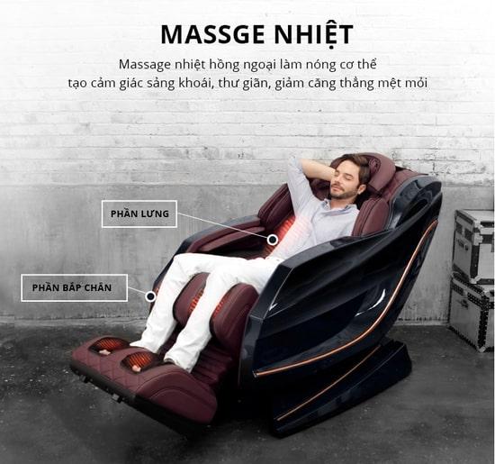 Ghế massage cao cấp Kaitashi
