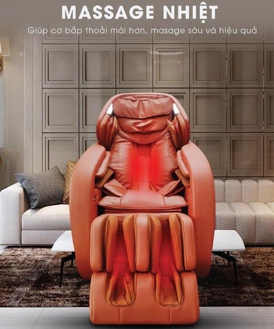 Ghế massage toàn thân cao cấp Kaitashi