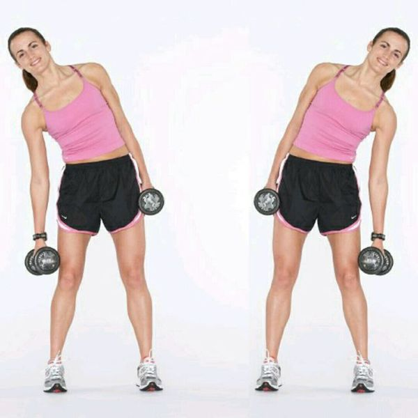 Dumbbell side bend