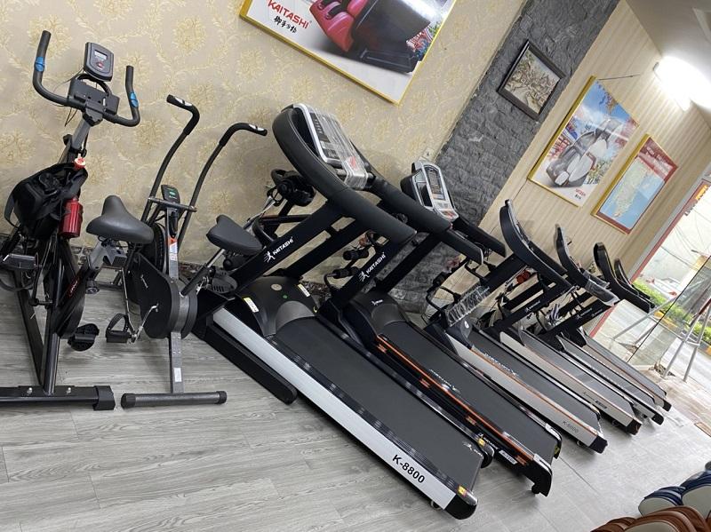 Không gian trưng bày các sản phẩm máy chạy bộ điện Kaitashi Vĩnh Phúc