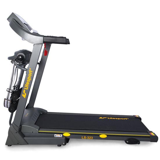 Máy chạy bộ Life Sport thiết kế nhỏ gọn, ổn định và êm ái khi sử dụng